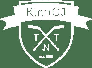 kinncj logo white
