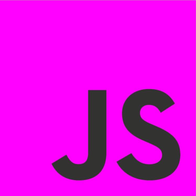 JavaScript logotype in Magenta